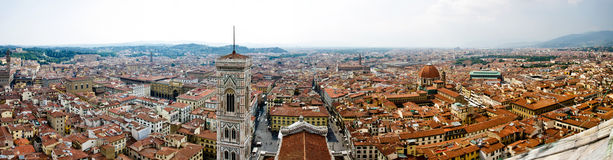 Panorama von Firenze Stockfotos