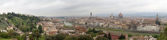 Panorama von Florenz Lizenzfreie Stockfotos