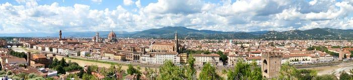Panorama von Florenz stockbild