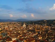 Panorama von Florenz, Italien stockfotos