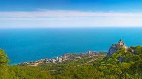 Panorama von Foros. lizenzfreie stockfotografie