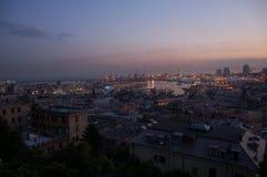 Panorama von Genua lizenzfreies stockfoto