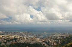 Panorama von Genua lizenzfreie stockfotografie