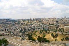 Panorama von Jerusalem 1 Stockbild