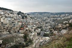 Panorama von Jerusalem Lizenzfreies Stockfoto