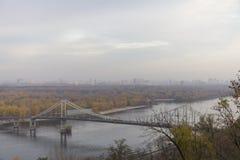Panorama von Kiew lizenzfreie stockfotos