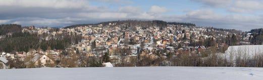 Panorama von Kokonin Stockbild