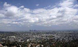 Panorama von LA Stockfotografie