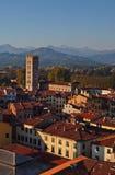 Panorama von Lucca 2-Italy lizenzfreie stockbilder
