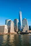 Panorama von Manhattan Stockfoto