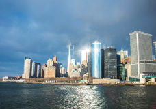 Panorama von Manhattan Lizenzfreie Stockfotos