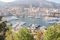 Panorama von Monaco Lizenzfreies Stockfoto