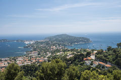Panorama von Monaco Stockfotos