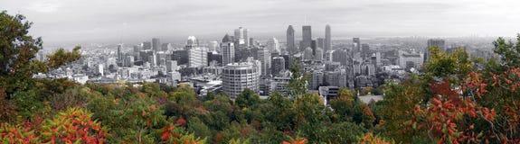 Panorama von Montreal Stockbilder