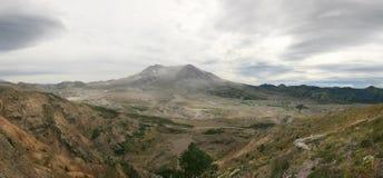 Panorama von Mt-Str. Helens Lizenzfreies Stockfoto