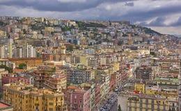 Panorama von Neapel Lizenzfreies Stockbild