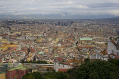 Panorama von Neapel Lizenzfreies Stockfoto