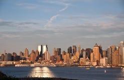 Panorama von New York City Stockbilder
