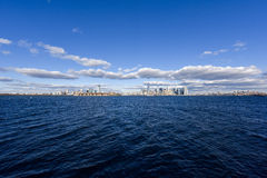 Panorama von New York City Lizenzfreies Stockbild
