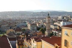 Panorama von Nizza Frankreich Stockfoto