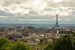 Panorama von Paris lizenzfreies stockbild