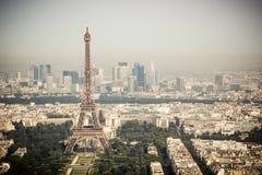 Panorama von Paris stockfotografie
