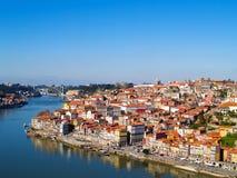 Panorama von Porto, Portugal Lizenzfreie Stockfotografie