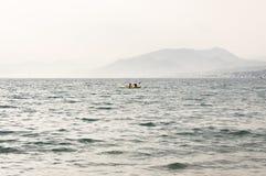 Panorama von Portofino Lizenzfreies Stockfoto