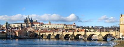 Panorama von Prag Stockfoto