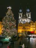 Panorama von Prag Stockfotografie