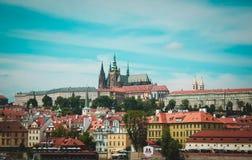Panorama von Prag Czeh-Republik Stockbilder