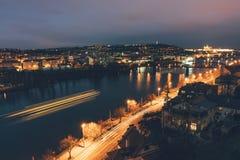 Panorama von Prag lizenzfreie stockfotos