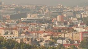 Panorama von Prag Tschechische Hauptstadt stock video footage