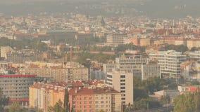 Panorama von Prag Tschechische Hauptstadt stock video