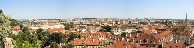 Panorama von Prag, Tschechische Republik Lizenzfreie Stockfotos