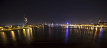 Panorama von Riga, Lettland, Europa Lizenzfreie Stockbilder