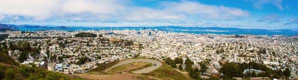 Panorama von San Francisco lizenzfreies stockfoto