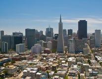 Panorama von San Francisco lizenzfreies stockbild