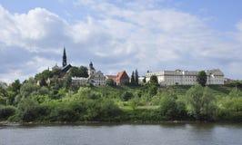 Panorama von Sandomierz Stockfoto