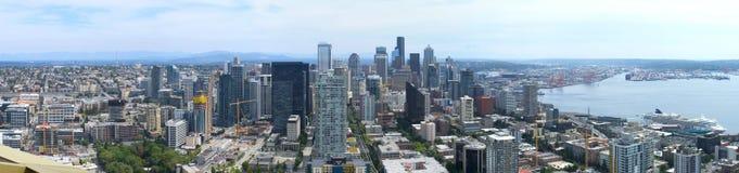 Panorama von Seattle lizenzfreie stockfotos
