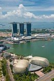 Panorama von Singapur lizenzfreie stockfotos