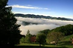 Panorama von Sonntagsberg Lizenzfreies Stockfoto