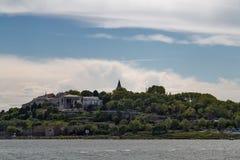 Panorama von Stadtbild des goldenen Horns mit alter Straße und Umb. Lizenzfreies Stockbild