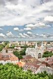 Panorama von Subotica Stockfotos