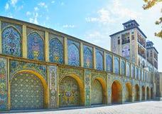 Panorama von Sun-Gebäude, Golestan, Teheran Lizenzfreie Stockfotografie
