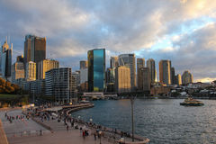 Panorama von Sydney Stockfotografie