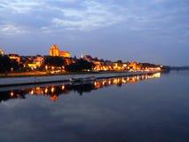 Panorama von Torun Lizenzfreie Stockfotografie
