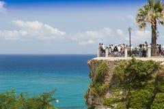 Panorama von Tropea Stockbild