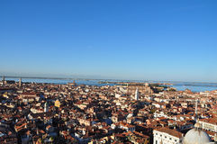 Panorama von Venedig Stockfotos