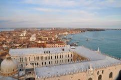 Panorama von Venedig, Italien Lizenzfreies Stockbild
